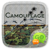(FREE) GO SMS CAMOUFLAGE THEME
