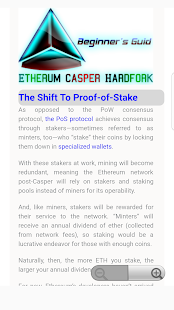 Beginners Guide to Ethereum Casper Hardfork - náhled