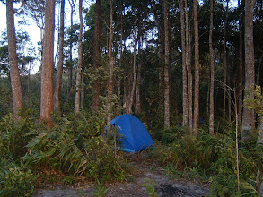 Photo: First night camp place