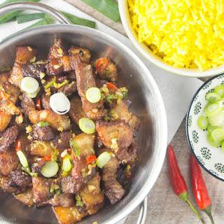 Salt and Pepper Pork Belly Recipe