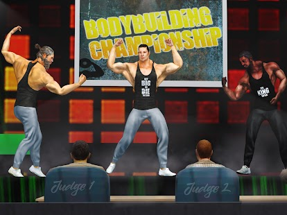 GYM Kampfspiele: Bodybuilder Trainer Kampf PRO Screenshot