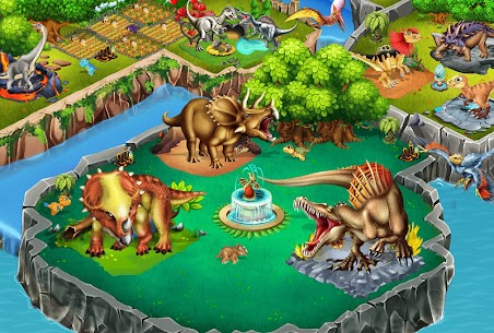 Dino Battle Apk Download For Android and Iphone 7