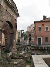 Photo: Many layers of Roman history