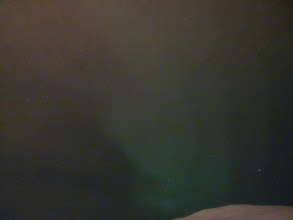 Photo: Encore des aurores pour notre seconde nuit à Tromsø
