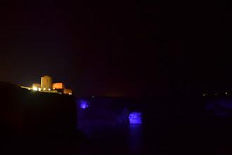 Photo: nočné osvietenie Bonifackej pevnosti s útesmi
