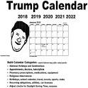 Trump Calendar US 2018 2019 2020 2021 2022 icon