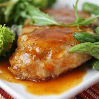 Sweet & Tangy Pork Chops.