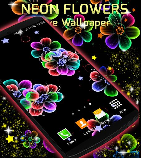 玩免費個人化APP|下載霓虹灯花动态壁纸 app不用錢|硬是要APP