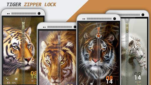 Tiger Zipper Lock