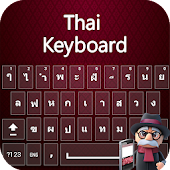 Thai Keyboard 2018: Thai Typing Keypad with Emoji