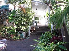 Photo: Our hotel verandah.