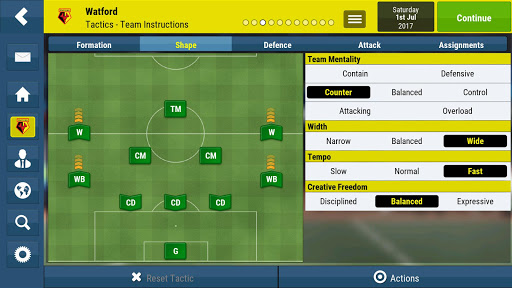 Football Manager Mobile 2018 for PC