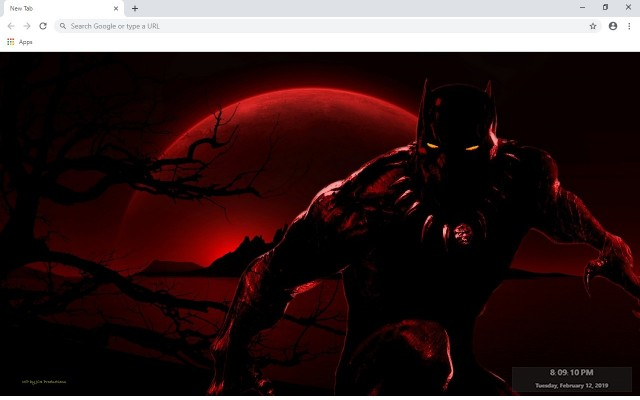 Black Panther New Tab & Wallpapers Collection