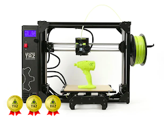 LulzBot TAZ Workhorse with 3 Year Extended Warranty