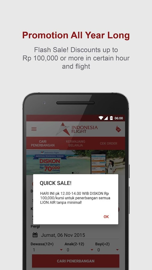 Indonesia Flight- screenshot