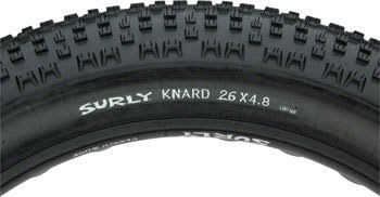 "Surly Knard 26x4.8"" Fatbike Tire 120tpi"