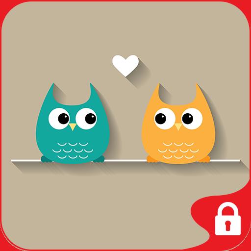 个人化のGO Locker Theme True Love LOGO-記事Game