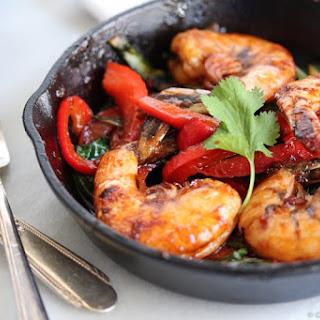 Thai Garlic and Chili Shrimp