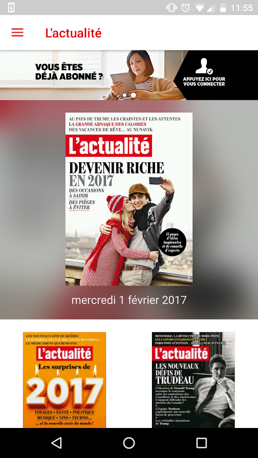 L'actualité magazine- screenshot