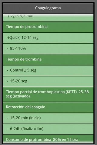 Valores Analu00edticos Normales 7.0 screenshots 3