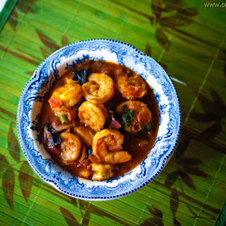 Prawns Masala Curry.