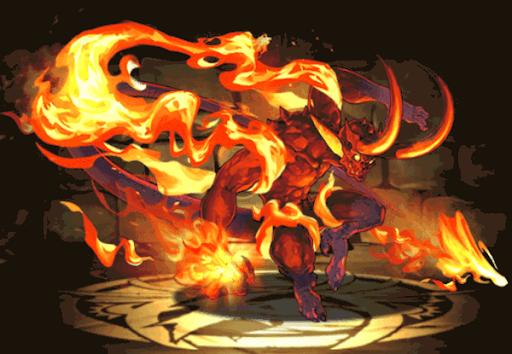 火の精霊王・ボーマ