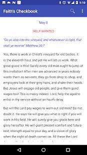 Faith's Checkbook - náhled