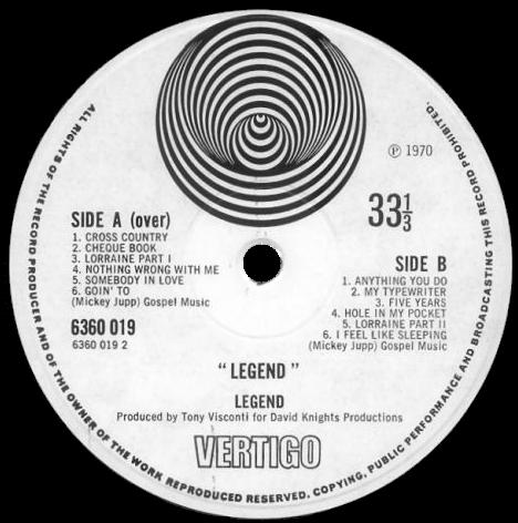 Legend-levyetiketti