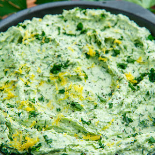 Whipped Feta and Herb Dip.