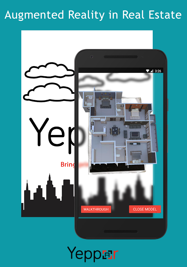 Yeppar - Augmented Reality- screenshot