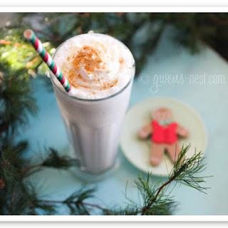Gingerbread Cookie Milkshake.