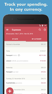 Toshl Finance - expense tracker & budget manager- screenshot thumbnail