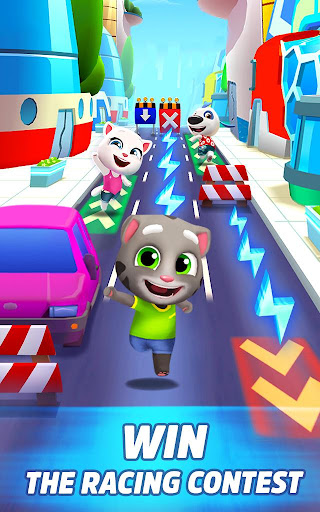 Talking Tom Gold Run 3D Game screenshot 10