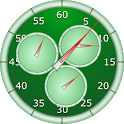 Analog Interval Stopwatch - hiit workout timer icon
