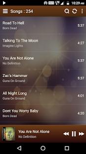 Elite Music Player - náhled