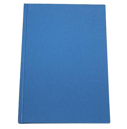 Anteckningsbok Tyg A4 blå