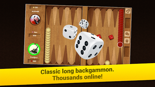 Backgammon Long Arena: Play online backgammon! screenshot 5