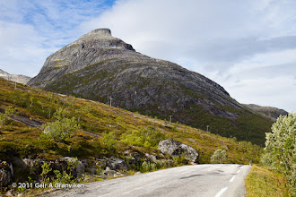 Photo: Store Blåmann, outside Tromsø. A challenging but popular trip up to the summit.