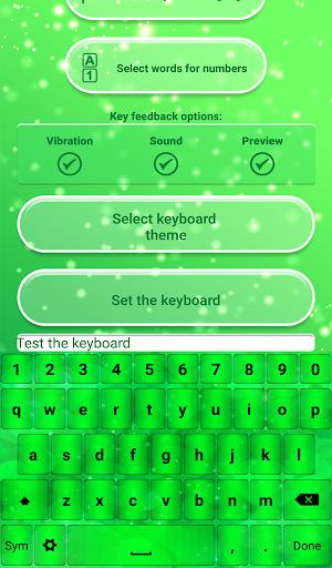 免費下載通訊APP|霓虹 綠 鍵盤主題 app開箱文|APP開箱王