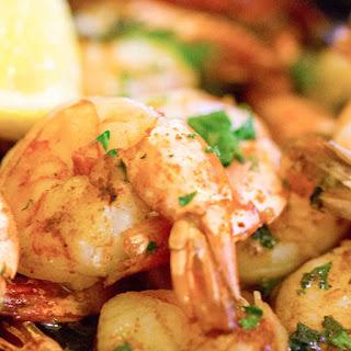 Spicy Cajun Garlic Shrimp
