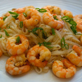 Amazing Garlic Shrimp Recipe With Rice Noodles (gluten And Lactose Free)