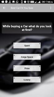 Nejlepší auto Fit vás kvíz - náhled