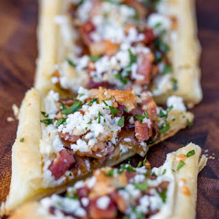 Bacon Blue Cheese Caramelized Onion Tart Recipe
