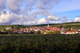 Photo: Our first stop is Breisach Germany where we board a bus for Riquewihr France