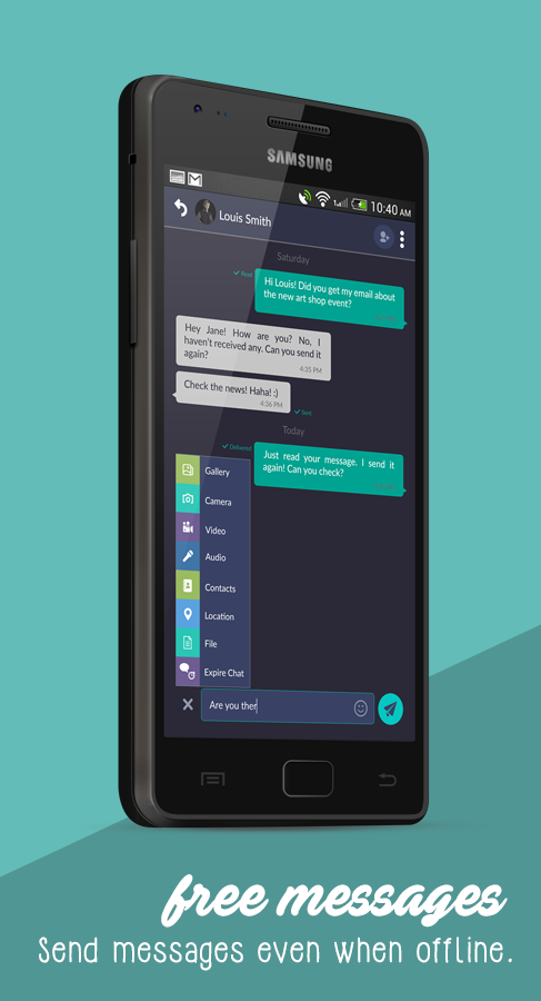 PeN Chat, Connecting the World Online or Offline- screenshot