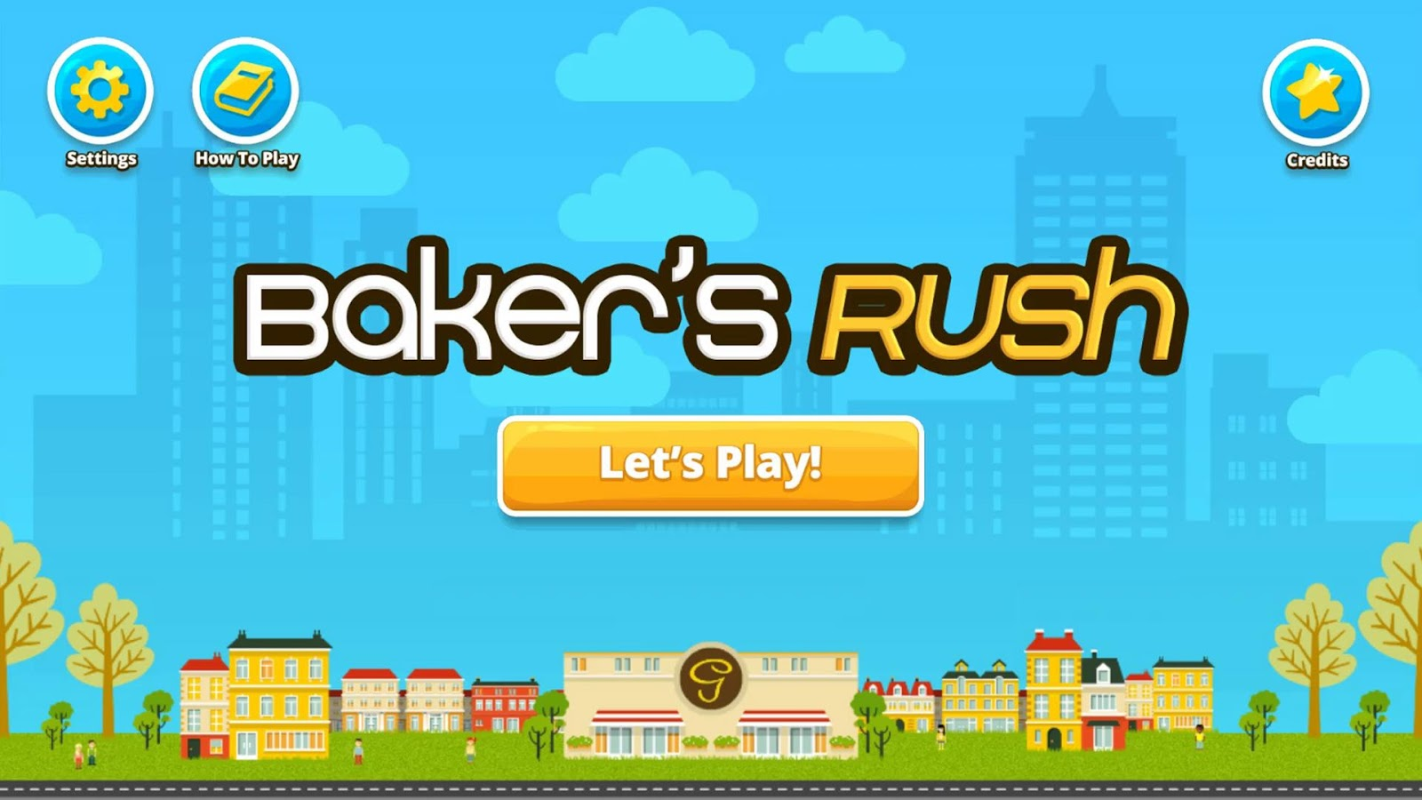 Baker's Rush- screenshot