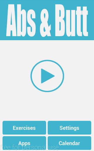 Abs & Butt Workout screenshot 1