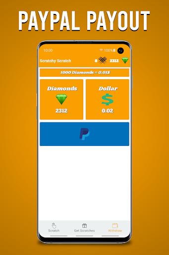 Scratchy Scratch - Earn Money screenshots 3