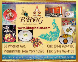 Photo: http://www.bhogindian.com/ 68 Wheeler Ave Pleasantville, New York 10570Call: 914-769-4100, Fax: 914-769-4105 email: contact@bhogindian.comFacebook: https://www.facebook.com/pages/Bhog-Indian-Restaurant/140963389424492