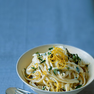 Linguine in Lemon Cream Sauce.